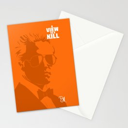 A View To A Kill Stationery Cards