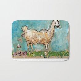What Llamas Poop  Bath Mat