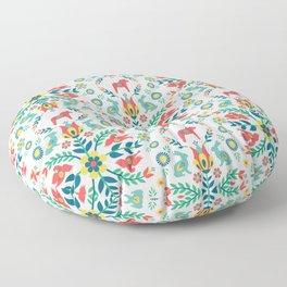 Swedish Folklore Floor Pillow