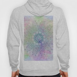 star mandala in rays of color Hoody