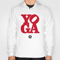 yoga Hoodies featuring YoGA by Isamu