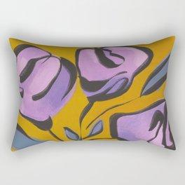 Mod + Pretty Floral Vase Rectangular Pillow