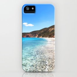258. Paradise Beach, Greece iPhone Case