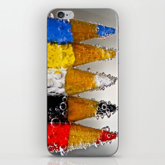 pencil Fun iPhone & iPod Skin