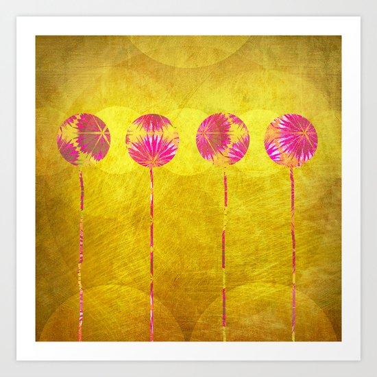Palmas Art Print