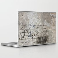 letter Laptop & iPad Skins featuring LETTER by ED design for fun