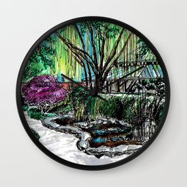 Pei Ling Chan Gallery Wall Clock
