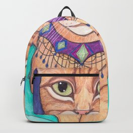 Orange Tabby Cat Backpack