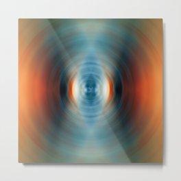 Vitality - Energy Abstract Art by Sharon Cummings Metal Print