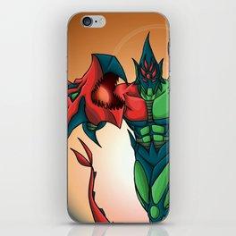 Yu-Gi-Oh! GX Elemental Hero Flame Wingman iPhone Skin