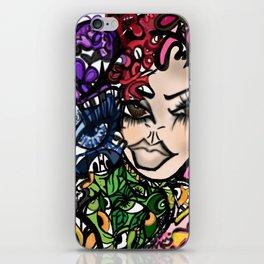 Grafitti Couture Chaotic Love  iPhone Skin