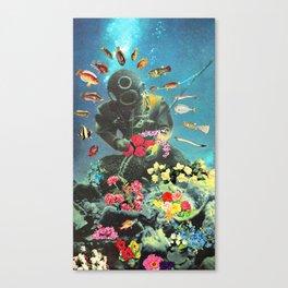Underwater Flora Canvas Print