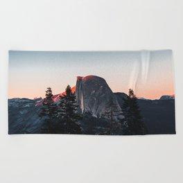 Last Light at Yosemite National Park Beach Towel
