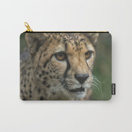 Cheetah's Face Carry-All Pouch