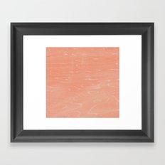Coral Stone Framed Art Print