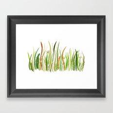 Prairie Watercolor by Robayre Framed Art Print