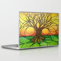 tree of life Laptop & iPad Skins featuring Tree Life  by R.Blume
