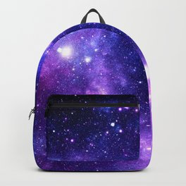 Purple Blue Galaxy Nebula Backpack