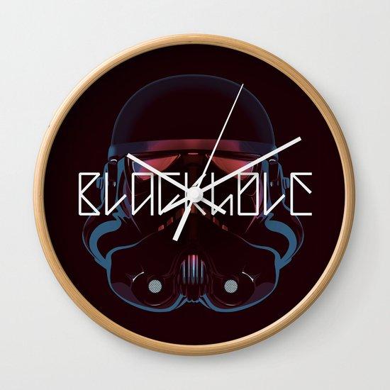 Blackhole Squadron Wall Clock