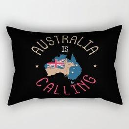 Australia Is Calling You Rectangular Pillow