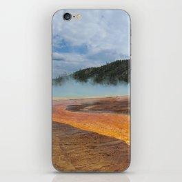 Yellowstone Algae 3 iPhone Skin