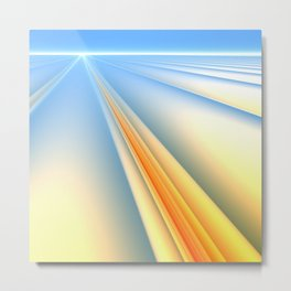 The Blinding Light of Day Metal Print