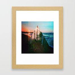 Breach 01 Framed Art Print