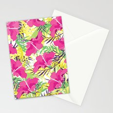 Tropic flowers Stationery Cards