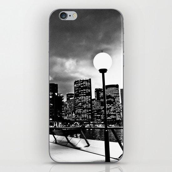 Mono-Chrome City iPhone Skin