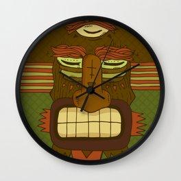 Cool Monster face Wall Clock