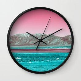 Colourful Skies Wall Clock