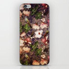 Magnolias and Hummingbirds iPhone Skin