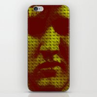 elvis iPhone & iPod Skins featuring Elvis by Joe Ganech