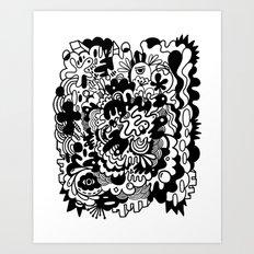 Bandersnatch Art Print
