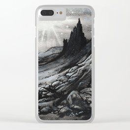 Old Man of Storr Clear iPhone Case
