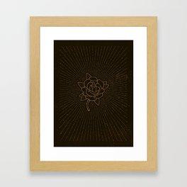Gypsy. Framed Art Print