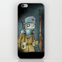 White Russian iPhone Skin