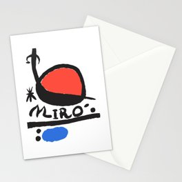 Joan Miró - L oiseau Solaire 1983 - Artwork for Prints Posters Tshirts Bags Women Men Kids Stationery Cards