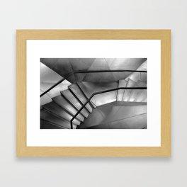 flat vertigo Framed Art Print