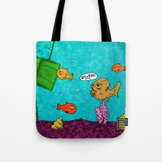 Admiral Ackbar It's a Trap art by RonkyTonk Tote Bag