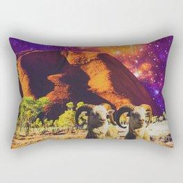 Aries Under An Andromeda Rectangular Pillow