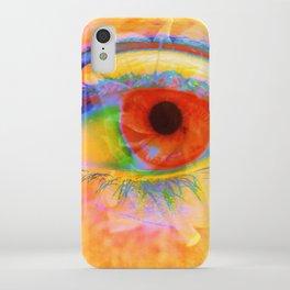 Eye In Bloom iPhone Case