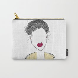 Girl, Life Is Too Short To Have Boring Hair Carry-All Pouch
