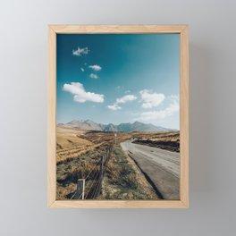 Longest Road 2 Framed Mini Art Print