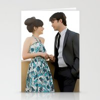 500 days of summer Stationery Cards featuring (500) Days of Summer by Derek Donovan