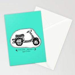 Vespa Hawaii Edition. Stationery Cards
