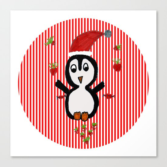 My Penguin | Christmas Spirit Canvas Print