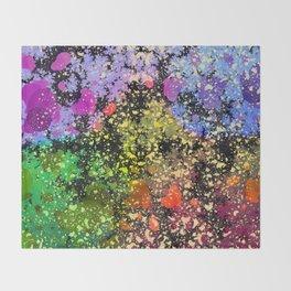 many dots III Throw Blanket