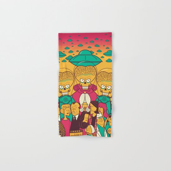 Mars Attacks! Hand & Bath Towel