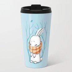 Winter Bunny Travel Mug